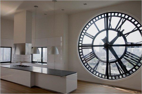 Verwonderlijk WDS Magazine - Hele grote klokken in New York penthouse HJ-03