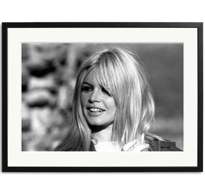 Brigitte Bardot Schwarz-Weiß Fotos