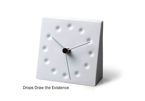 Lemnos design table-top clock 'Kanae Mini'