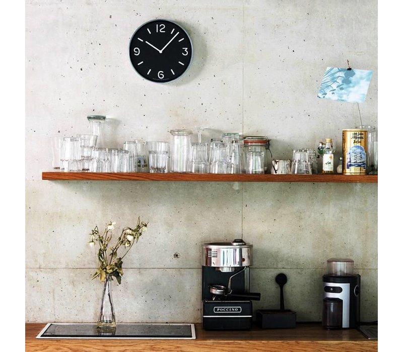 round modern clock