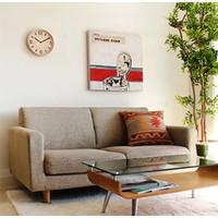 Wanduhr aus Holz 'Thomson' in zwei Arten Naturholz erhältlich