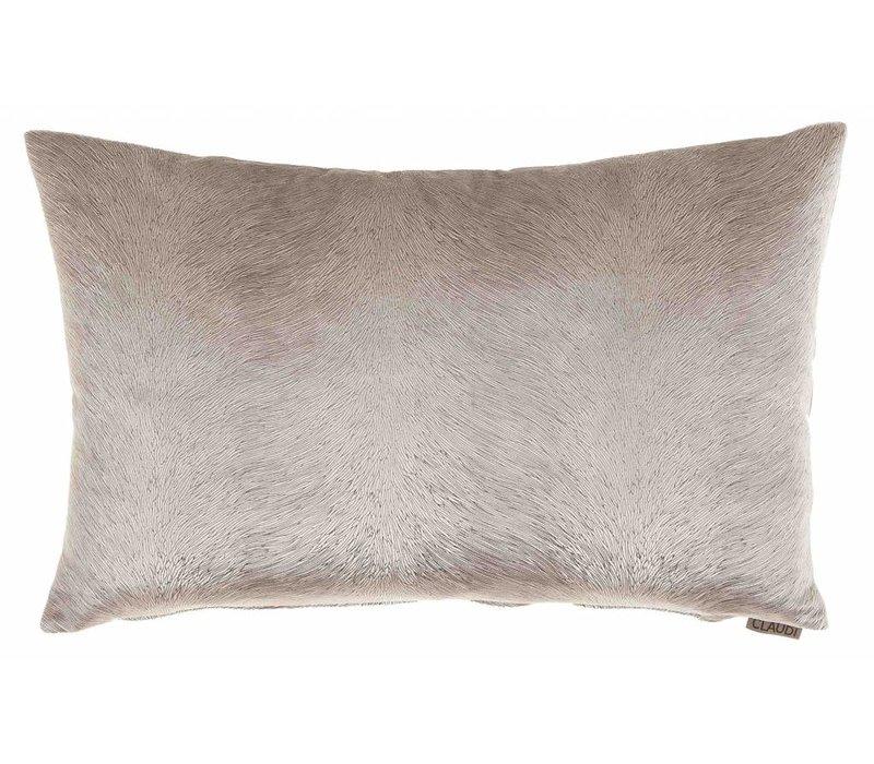 Cushion Perla color grey