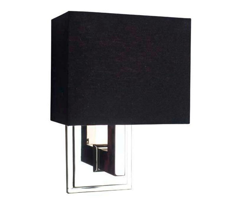 Wandlamp Balthazar met zwarte kap
