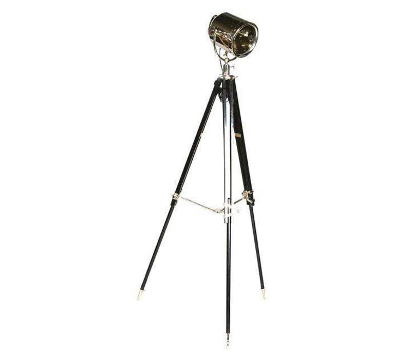 Driepoot lamp 'Studio' verstelbaar in hoogte