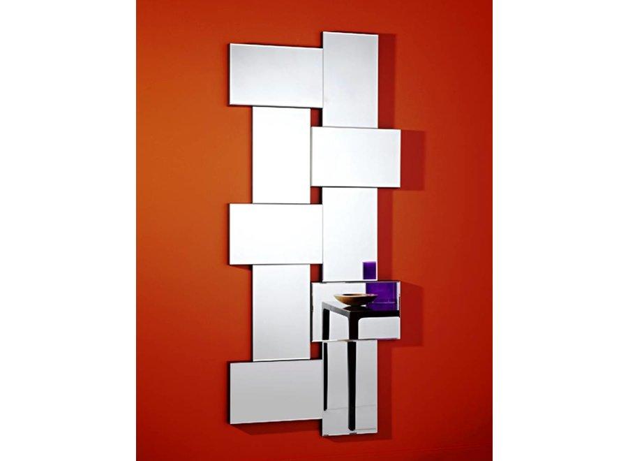 moderne spiegel 'Criss Cross'