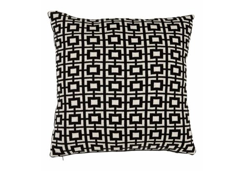 Eichholtz Kussen Abstract Squares Black