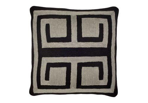 EICHHOLTZ Cushion Bliss Black & Grey