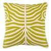 EICHHOLTZ Zierkissen Zebra Lime-farben