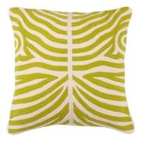 Zierkissen Zebra Lime-farben