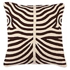 EICHHOLTZ Cushion Zebra color Brown