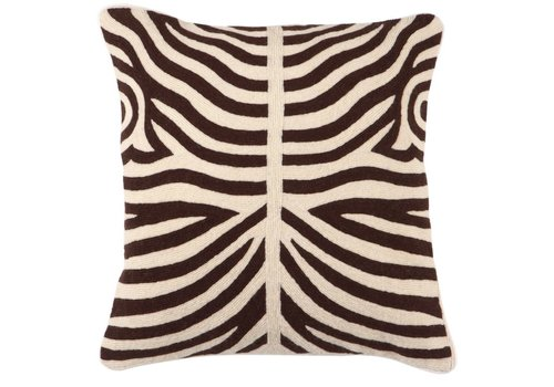 EICHHOLTZ Cushion Zebra Brown