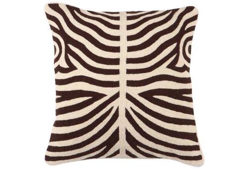 EICHHOLTZ Kussen Zebra Brown