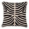 EICHHOLTZ Sierkussen Zebra kleur Black