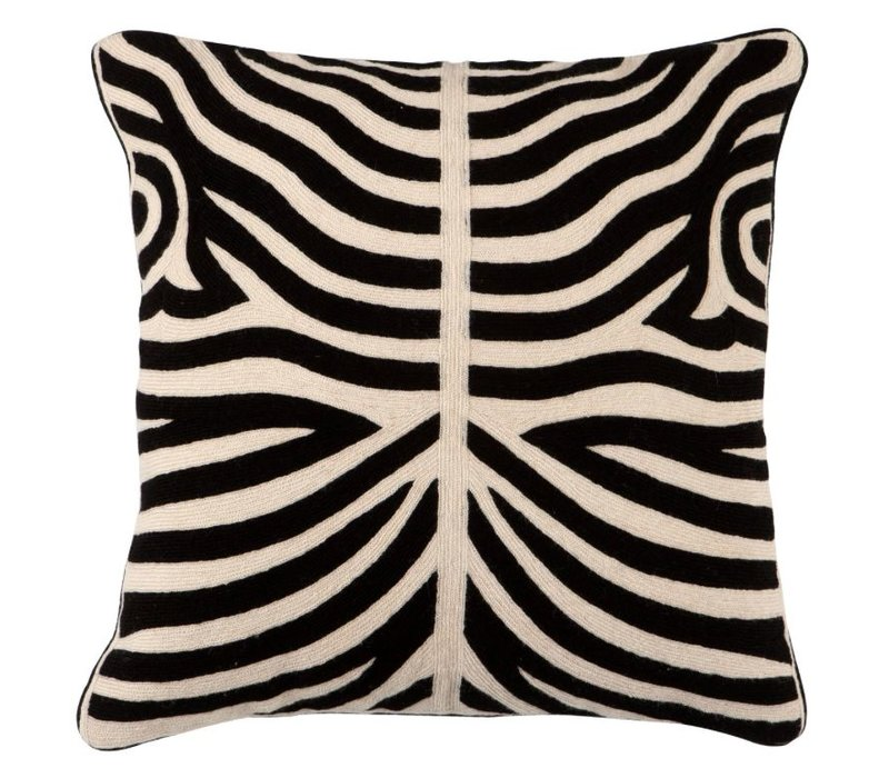 Sierkussen Zebra kleur Black