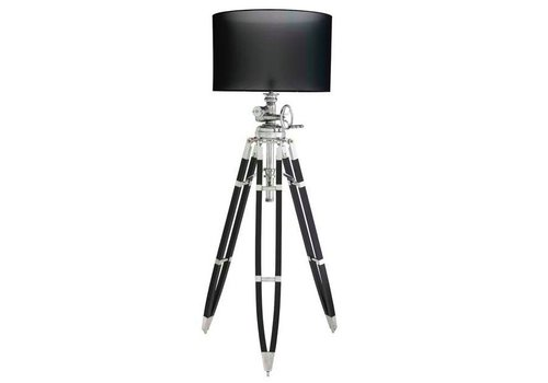 EICHHOLTZ Driepoot lamp 'Royal Marine' Black