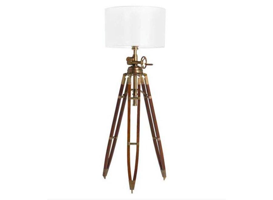Driepoot lamp 'Royal Marine' Brown
