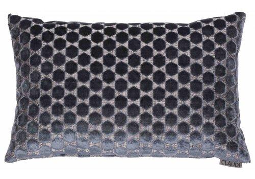 CLAUDI Chique Cushion Orsina Anthracite
