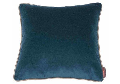 CLAUDI Design Cushion Saffi Petrol