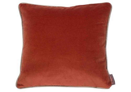 CLAUDI Cushion Saffi Burned Orange