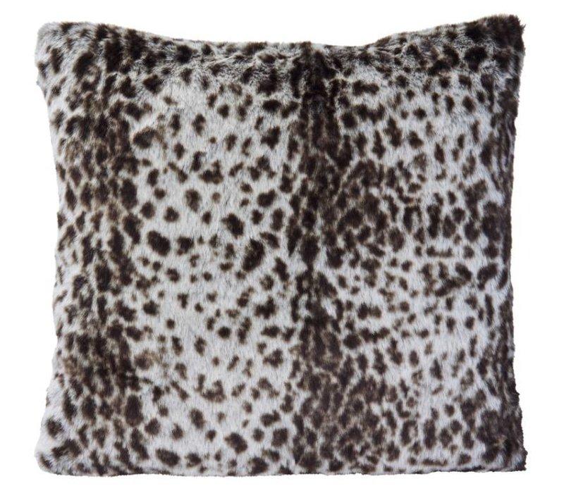 Cushion faux fur Serval