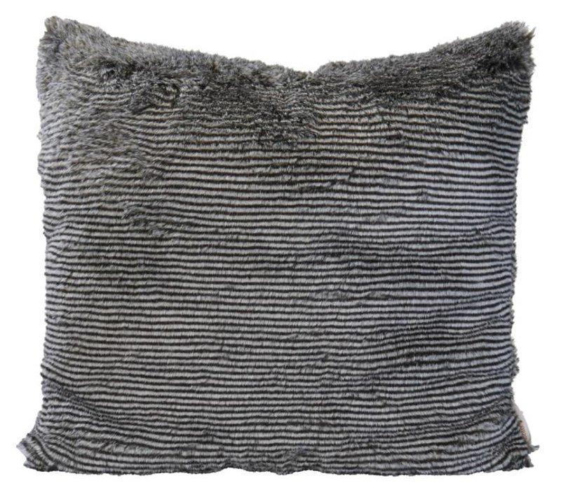 Cushion faux fur Silverracoon