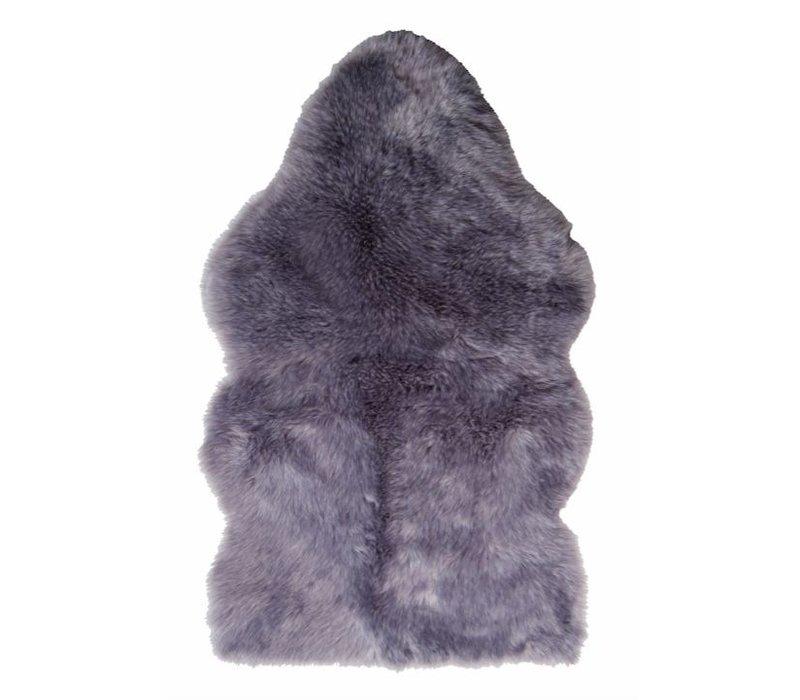 Shieepskin 'Purplewolf' in 70 x 115cm