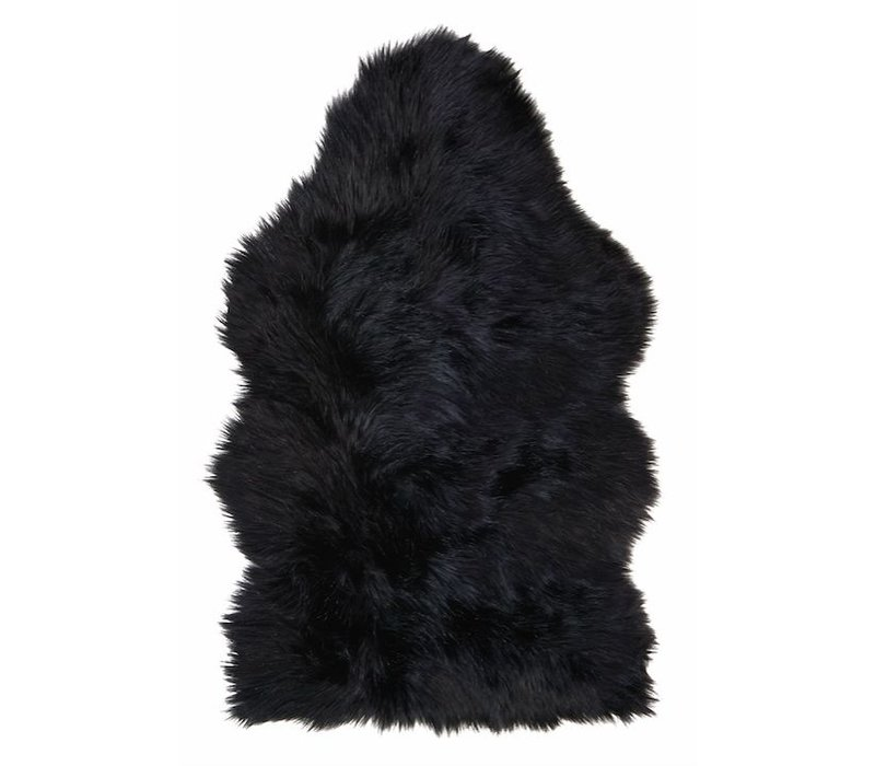 Schapenvacht 'Blackwolf' 70 x 115cm