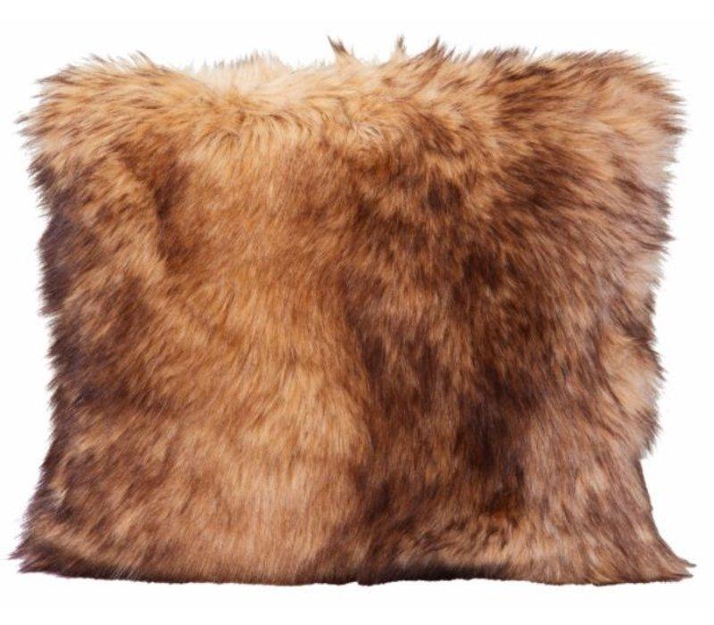 Cushion faux fur Steppenwolf