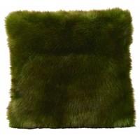 Cushion faux fur Greenwolf