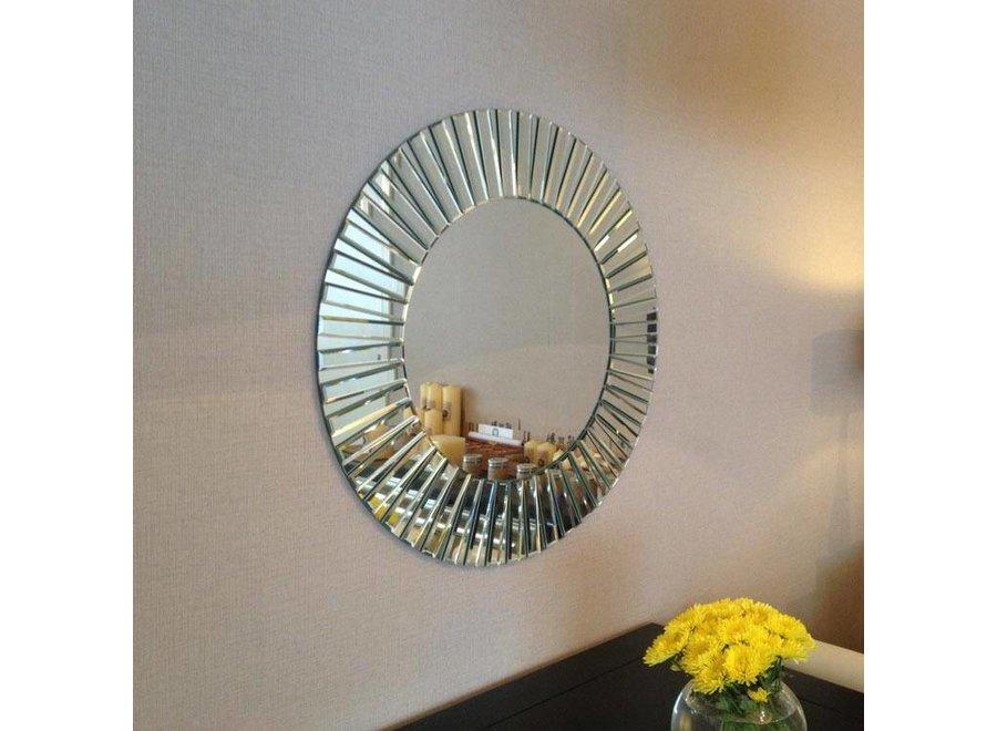 ronde design spiegel 'Sunny' 80 cm