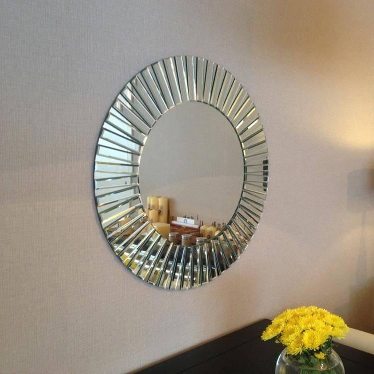 Cheerful Round Design Mirror Sunny Wilhelmina Designs