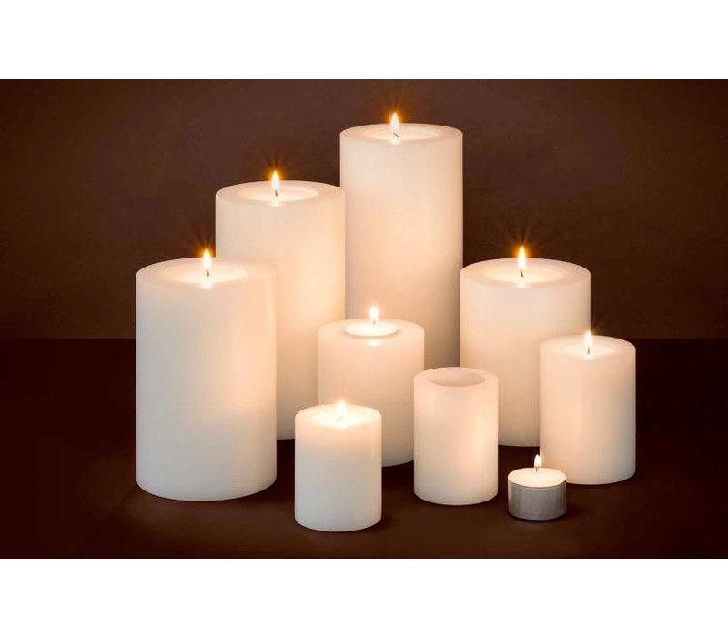 Artificial Candles S - 2 pieces - 7x6 cm