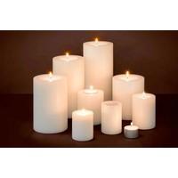 Artificial candles M - 2 pieces - 8x6 cm