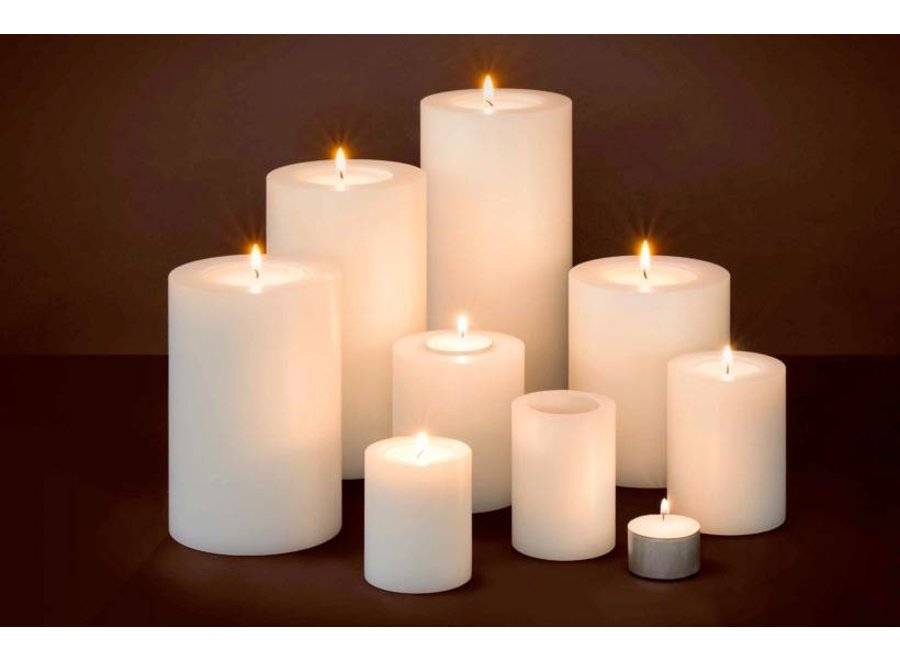 Kaarsen set L - 2 stuks - 7x9 cm