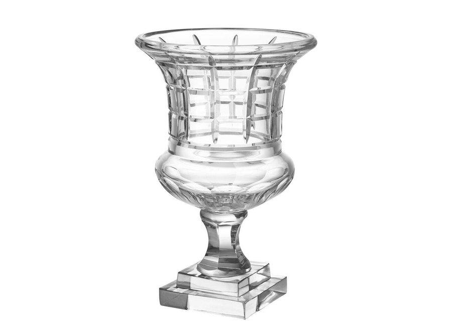 Glazen urn 'Peck'