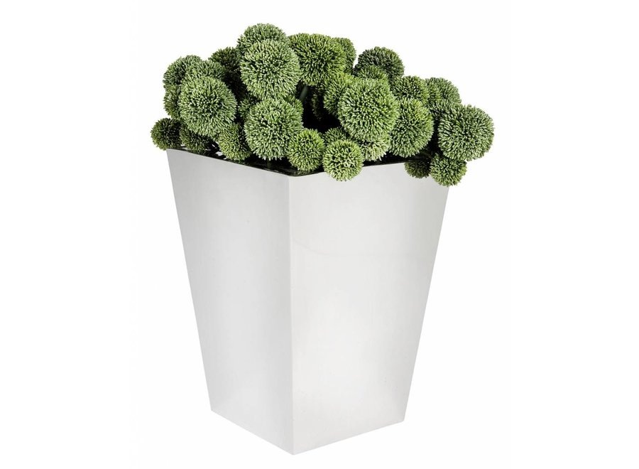 Plantenbak roestvrijstaal 'Hanbera' H 57cm