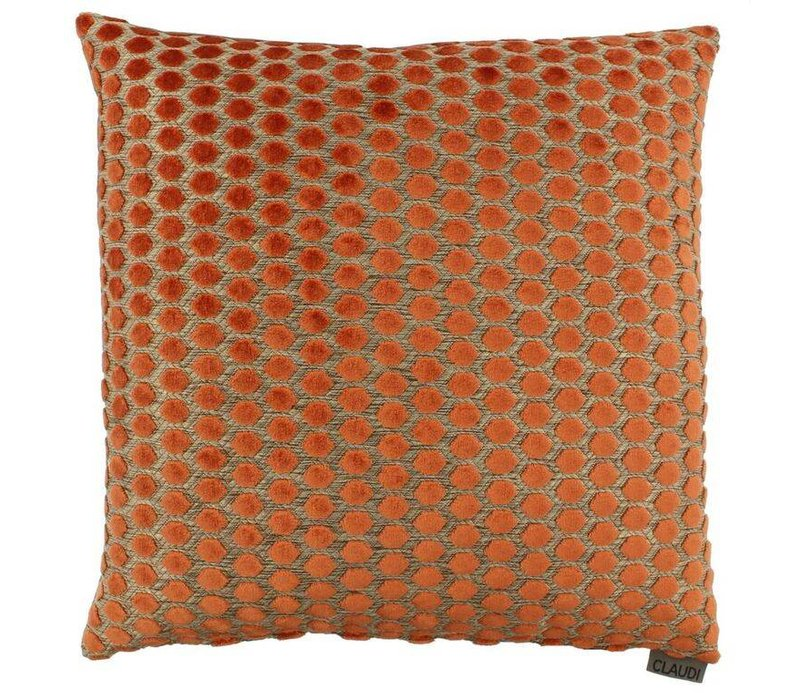 Cushion Sergio in color Orange