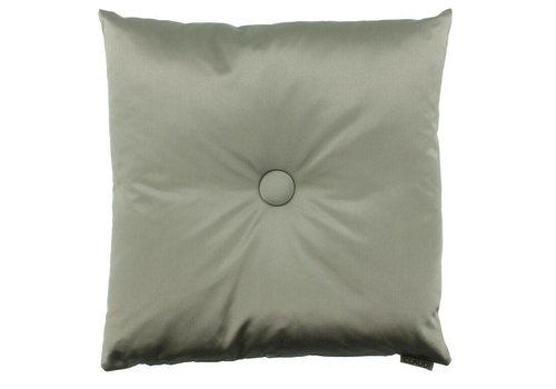 CLAUDI Chique Kissen Dafne Grey Mint XL button