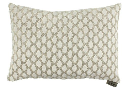 CLAUDI Chique Cushion Joyce White