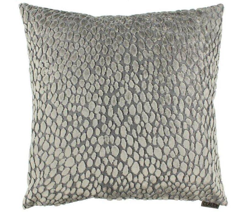 Cushion Speranza in color Sand/Grey