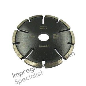 GEVELPROF diamantvoegenslijpschijf ø 125 mm, 8 mm