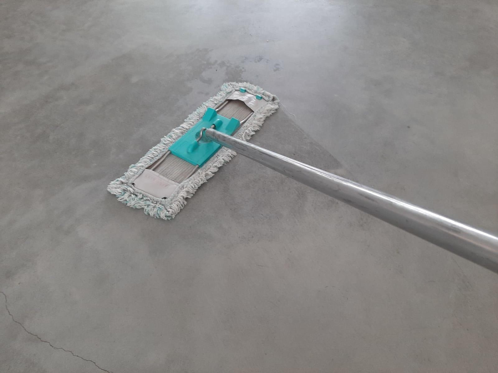 betonvloer impregneren