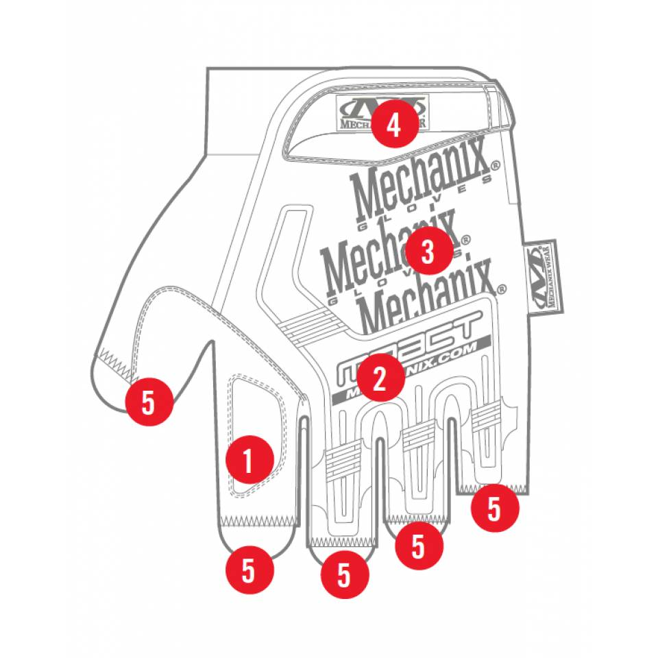 Mechanix Wear M-PACT FINGERLESS COYOTE