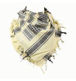 Hartmann PLO sjaal zwart/zand