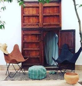 Riadlifestyle Vlinderstoel / Butterfly chair cognac