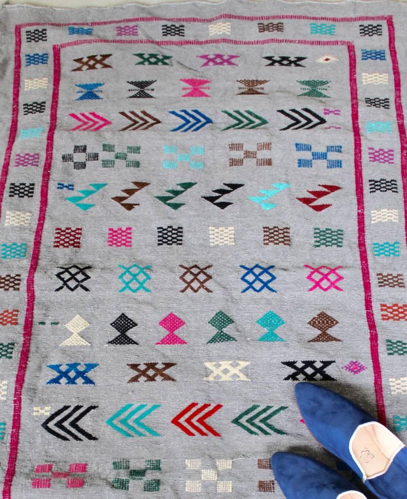 Riadlifestyle Moroccan cactus rug