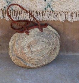 Riadlifestyle Marokkaanse rieten mand