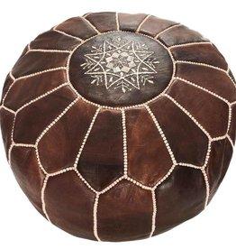 Riadlifestyle Moroccan pouf brown