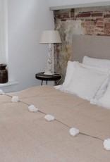 Riadlifestyle Pom Pom blanket sand - Copy