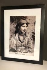 Riadlifestyle Art deco Poster Berber vrouw